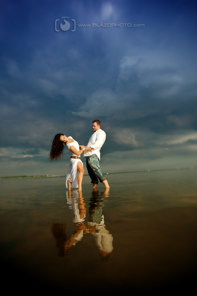 West Haven, Ct. Sep 21, 2009 Steve Blazo Photography Rose & Sean engagement...