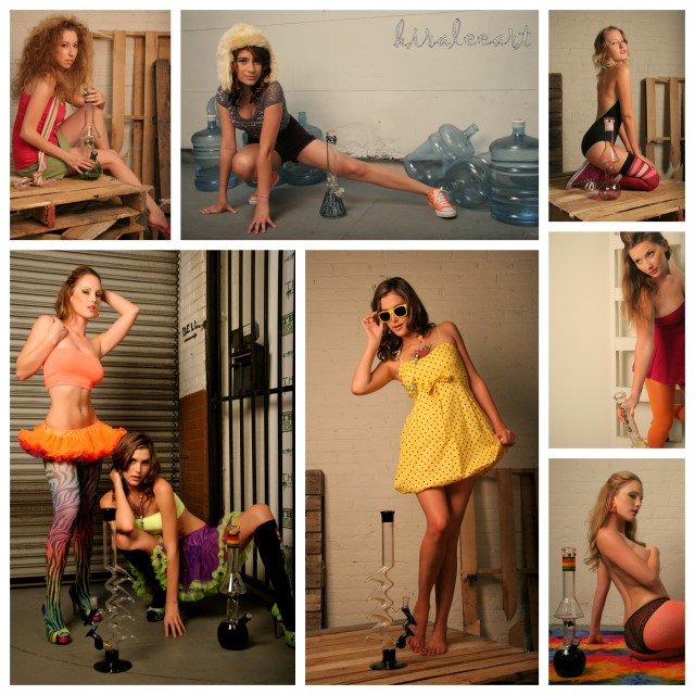 all of these ladies i HIGHly recommend. they did a fantastic job. thank you girls!!! Sep 22, 2009 kiraleeart and hempire magazine things are looking bright shoot (fashion bong spread preview)