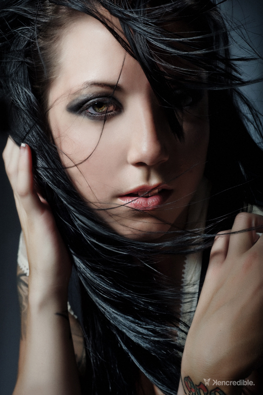 Female model photo shoot of Shanin Jean by Kencredible