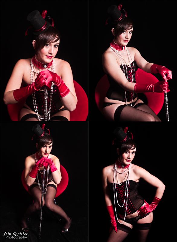 Female model photo shoot of amy89 in Erin's Studio