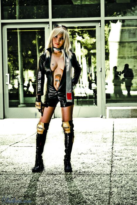 San Jose, CA Sep 23, 2009 Darkain.com Rowdy Reiko (Rumble Roses) cosplay.
