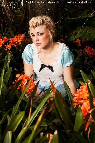 Female model photo shoot of Nicola J more photos in Botanic Gardens