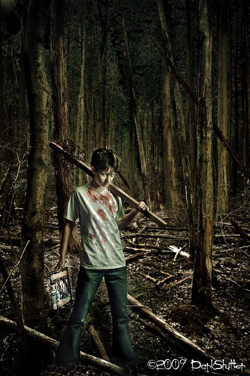 Sep 24, 2009 DarkShutter Ad for HorrorHound magazine