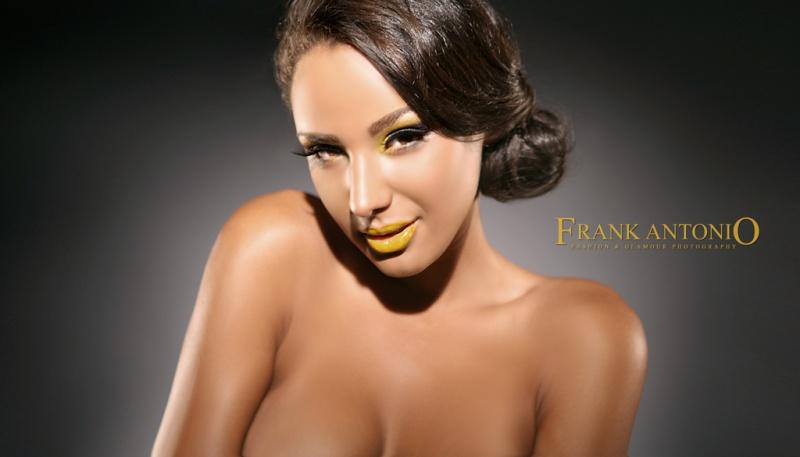 Bronx, NY Sep 25, 2009 FRANK ANTONIO YELLOW BEAUTY........smile (hair by VICKI STARR)