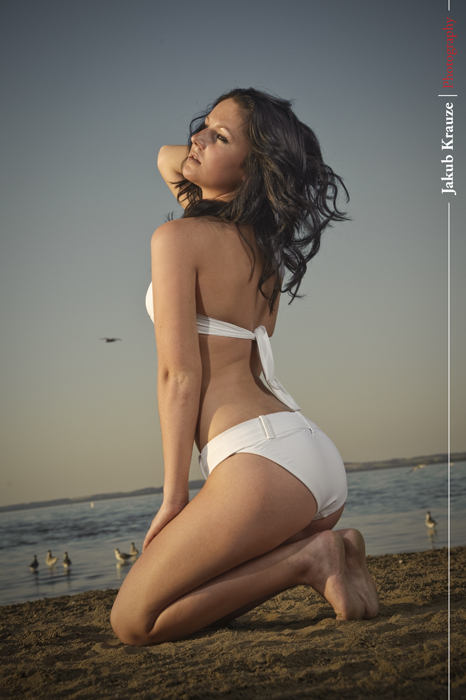 Male and Female model photo shoot of Kubowski and xx Jessica xx in Gull Lake, AB