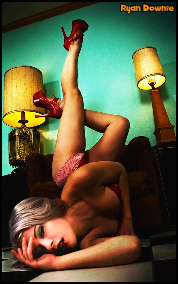 Viking St Castle Sep 28, 2009 Ryan Downie Model is Miss Mosh Mua self