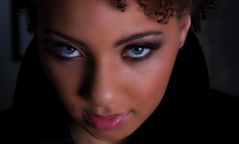 Female model photo shoot of Khrystyna Monet by bacPhoto
