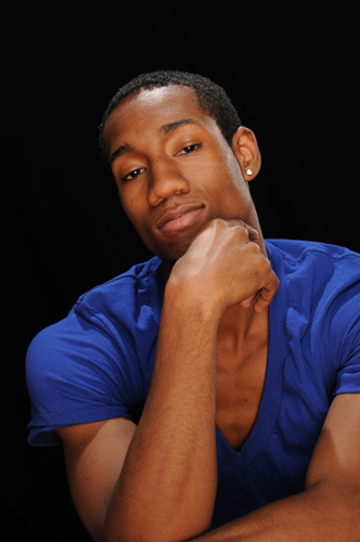 Male model photo shoot of Juan White by Michael Huitt
