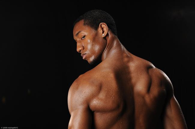 Male model photo shoot of Juan White by Michael Huitt