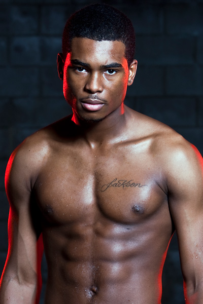 Male model photo shoot of Tapia Photo and Derrick Jackson in Studio 311, Los Angeles, CA