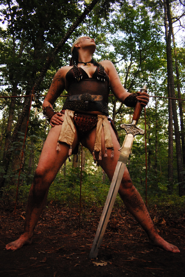 Female model photo shoot of Terra_Rising by jerrell edwards