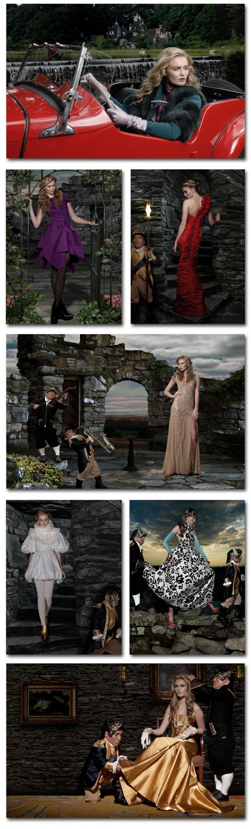 Millbrook NY Oct 01, 2009 Philip Valende Royal Fantasy -Styling: Alisha Crutchfield. MUA: Theresa Francine, HAIR. Leo Eley