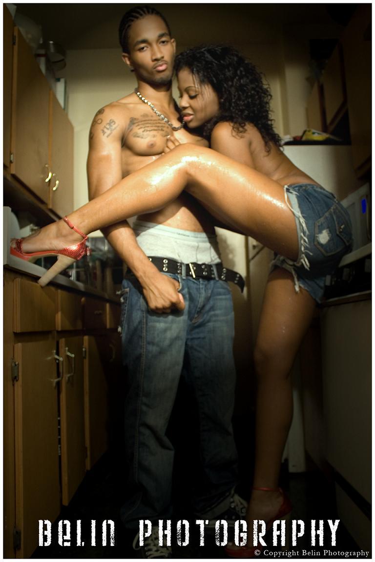 Male and Female model photo shoot of BelinPhotography, Pharoah Ali and Leandra Gonzalez in Harlem, NYC