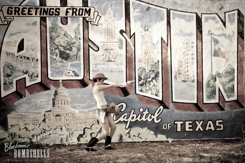 Austin, TX Oct 02, 2009 Bluebonnet Bombshells HMUA- Kelly McKellop