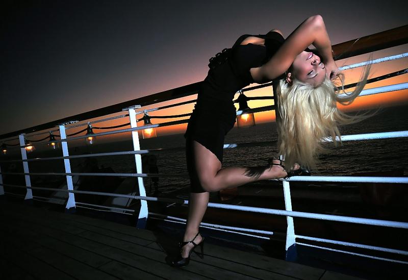 On the Cruiseship! Oct 02, 2009 SM Shot of Lacie on the Carnival Paradise at the Catalina & Ensenada Cruiseshoot!