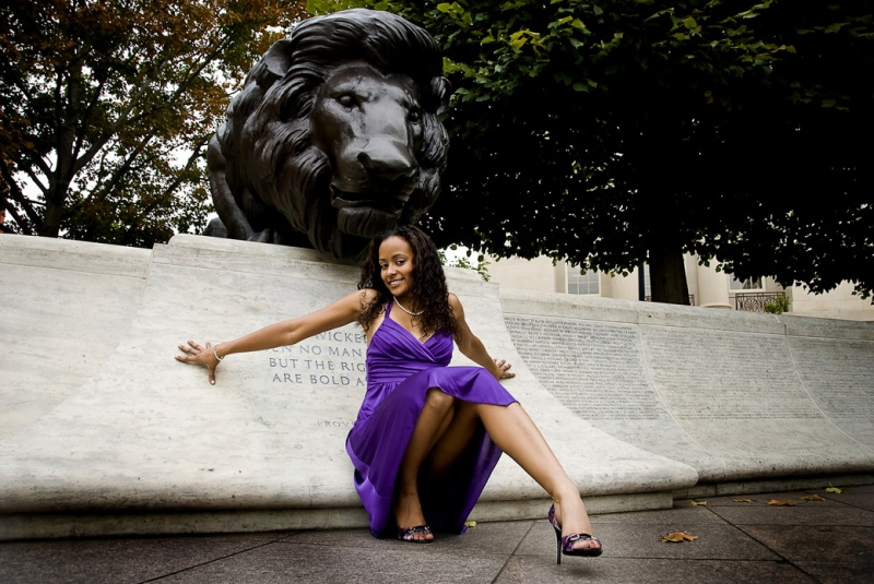 Male and Female model photo shoot of Natural Konjo Photo and CookieTheModel in DC