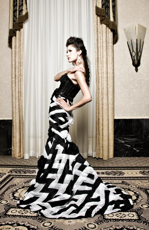 NYC Oct 03, 2009 Benjamin Hayon Couture Fashion
