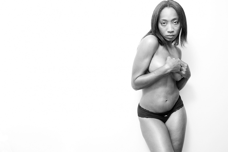 Female model photo shoot of Tiffany Stage by Nick Parisse in NYC