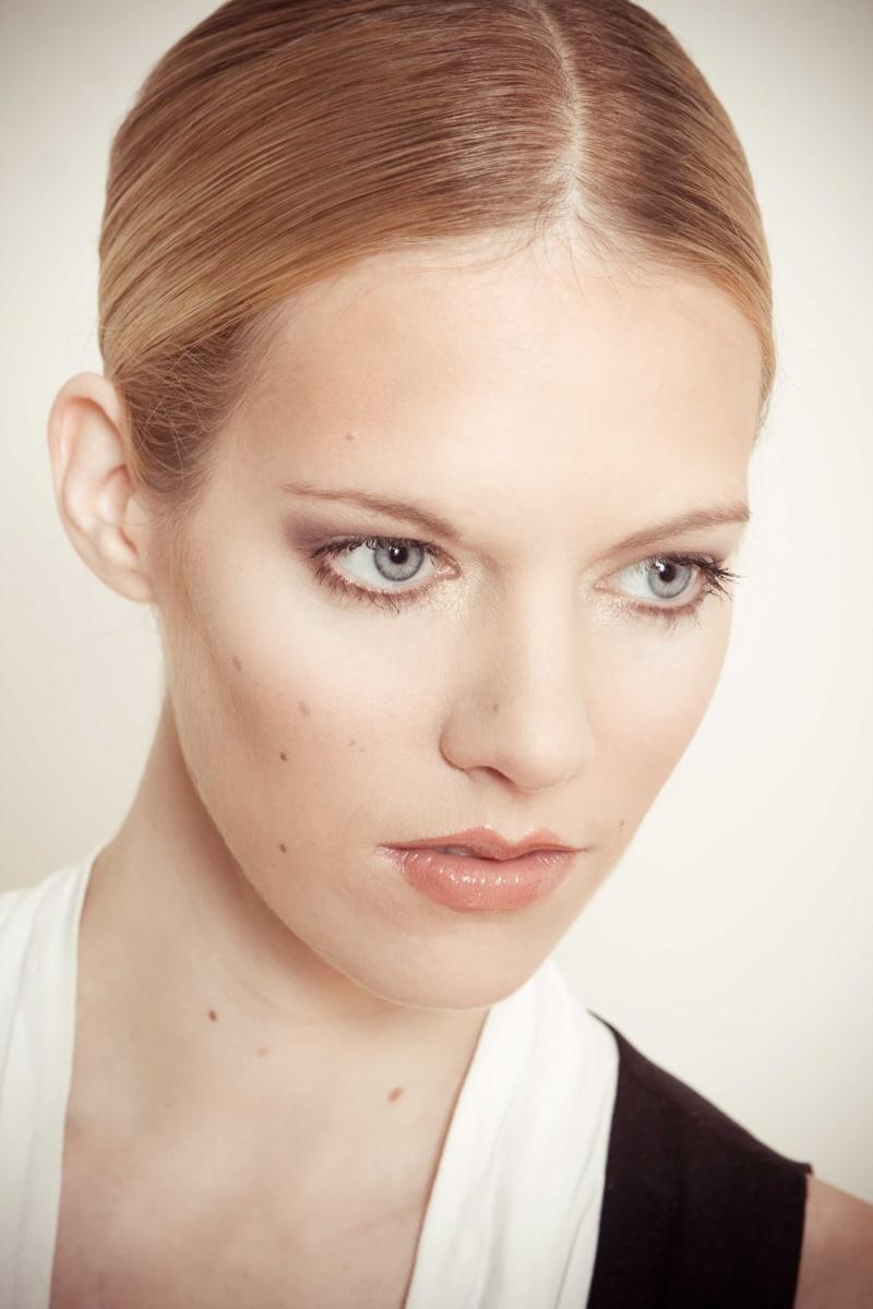 Male and Female model photo shoot of ace ujimori and Gone Bye in Studio, makeup by CreativeTouchbyMonica