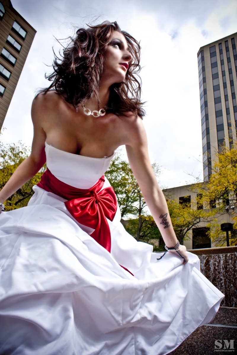 Downtown Columbus, OH Oct 05, 2009 Steve Maisch High Fashion in the city