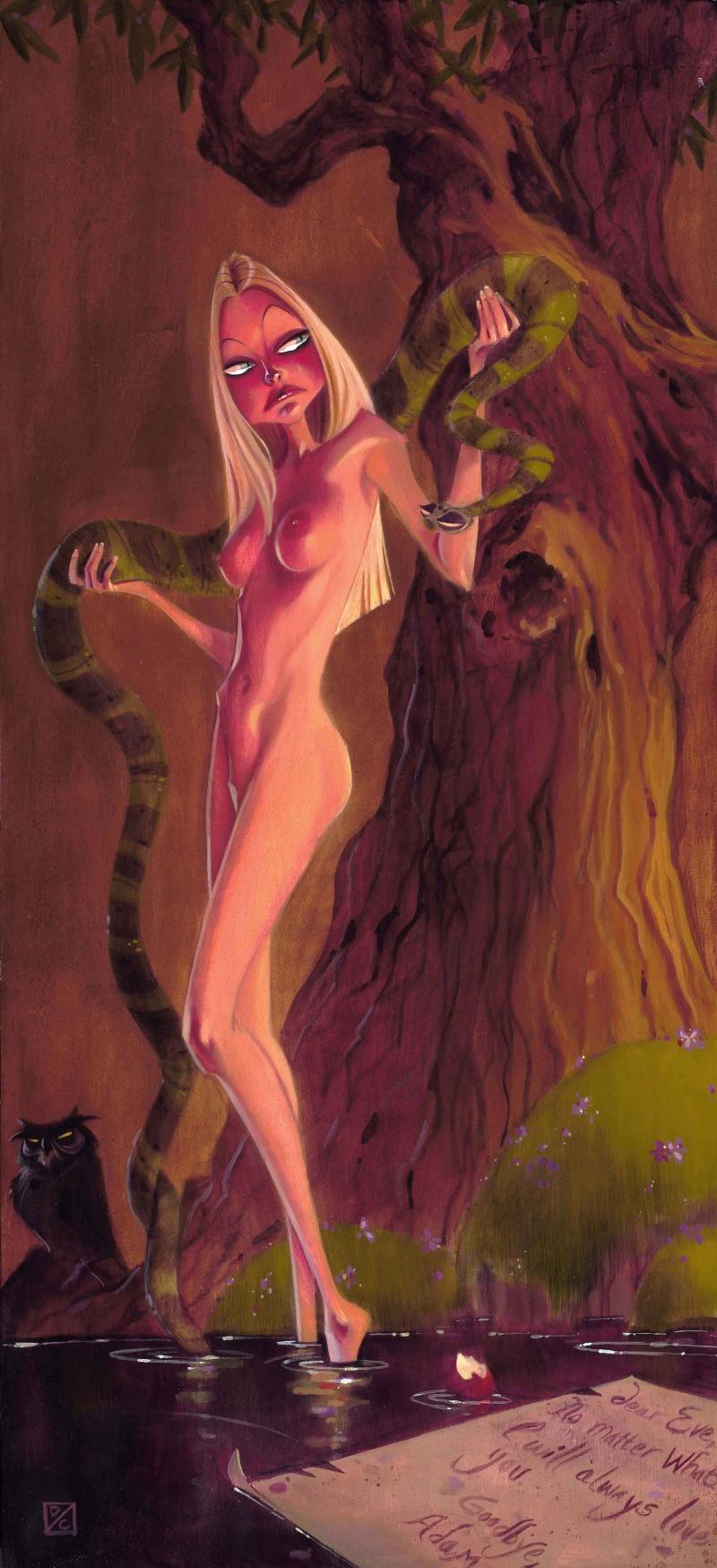 los angeles Oct 05, 2009 Devin Crane Eve Alone in the Garden of Eden