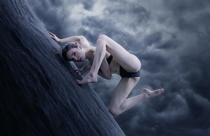 Female model photo shoot of Kess M by MichaelO Digital Artist