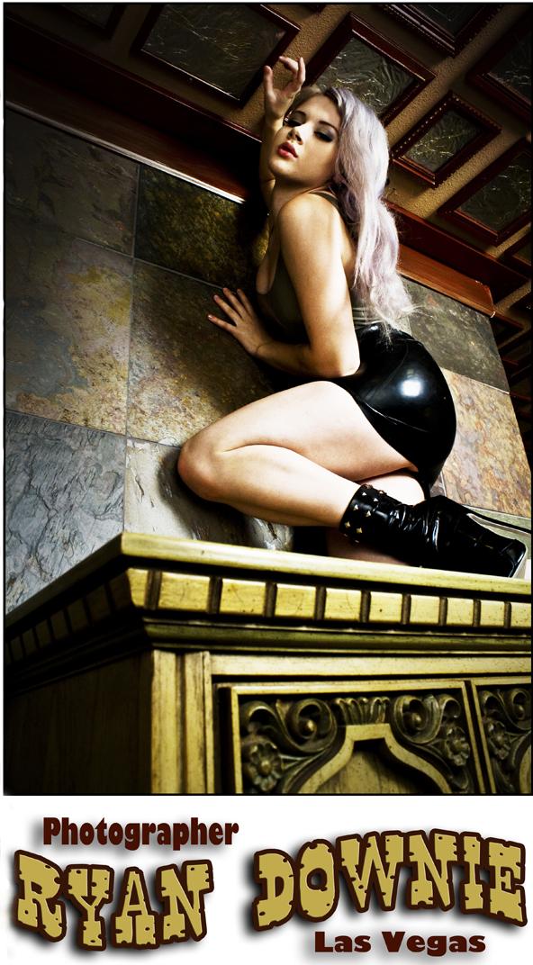 Viking St Castle Oct 06, 2009 Ryan Downie Model is Miss Mosh Mua self