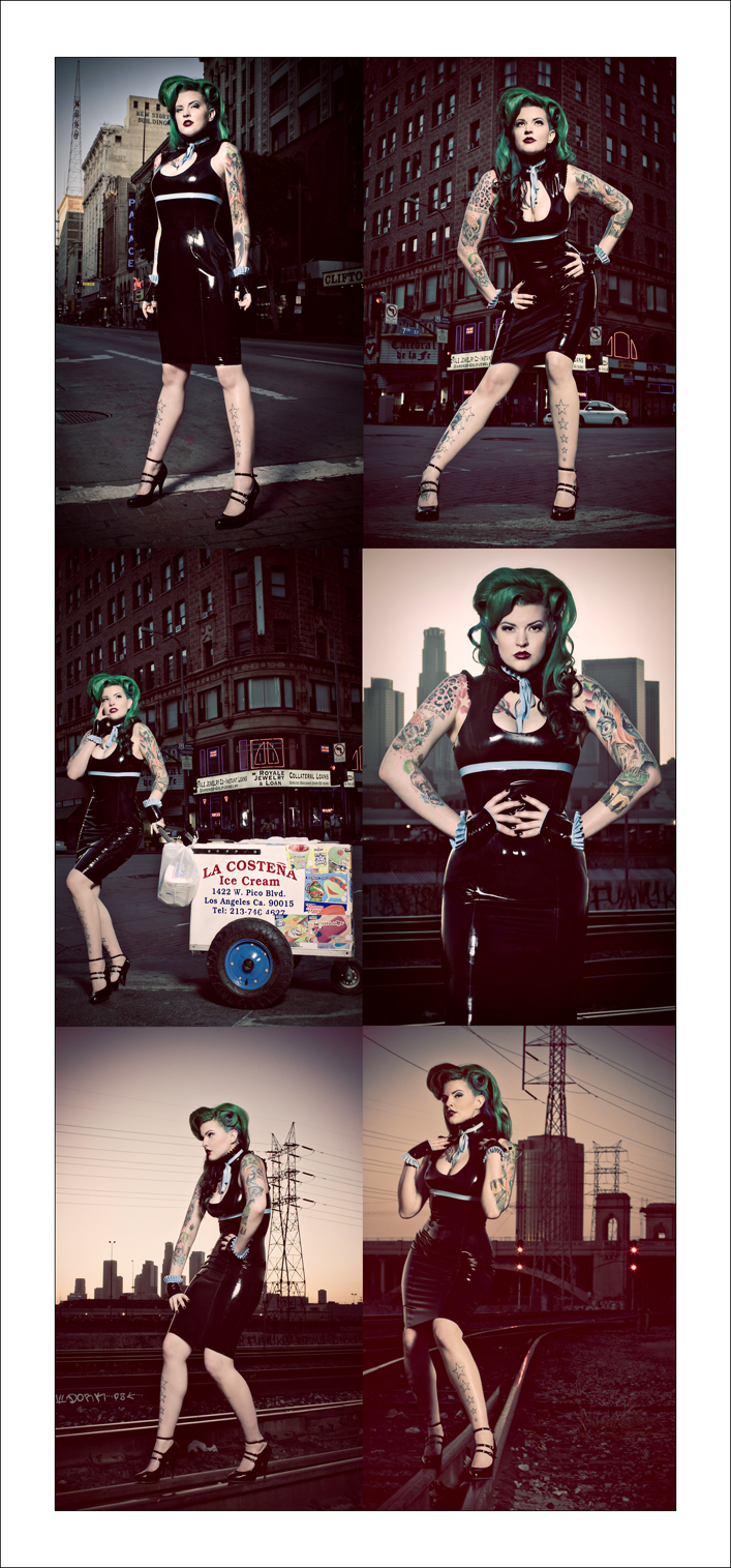 All over LA Oct 06, 2009 S H photography, MUAH -Mary Harry Carry, Syren Latex LAtex in LA