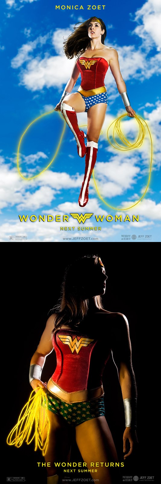 his studio - Pittsburgh, PA Oct 07, 2009 Jeff Zoet Photography 2009 Wonder Woman!