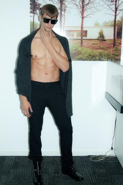 Male model photo shoot of ck carpenter--men in Hariri and Hariri office NYC