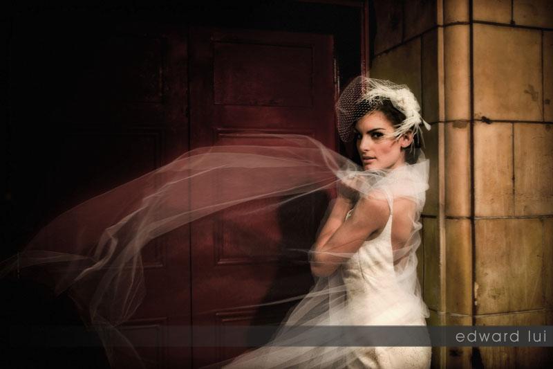 London Oct 08, 2009 Edward Lui Wedding fashion portraiture... creation of art project