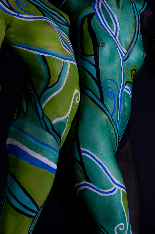 Waukesha, WI Oct 10, 2009 2009 Shay Armstrong Infidel Images Bodypainting by Shay Armstrong, Infidel Images