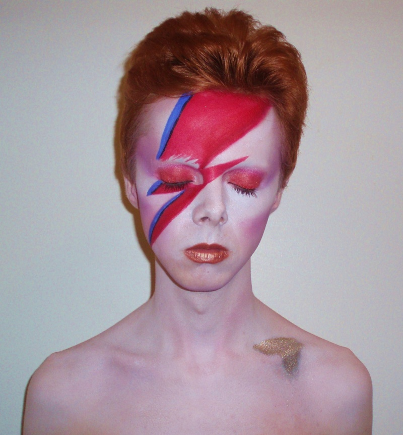 Oct 11, 2009 Myself as Aladdin Sane