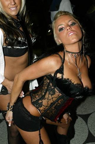 Female model photo shoot of Kolby LS in Ghostbar - Dallas, Texas