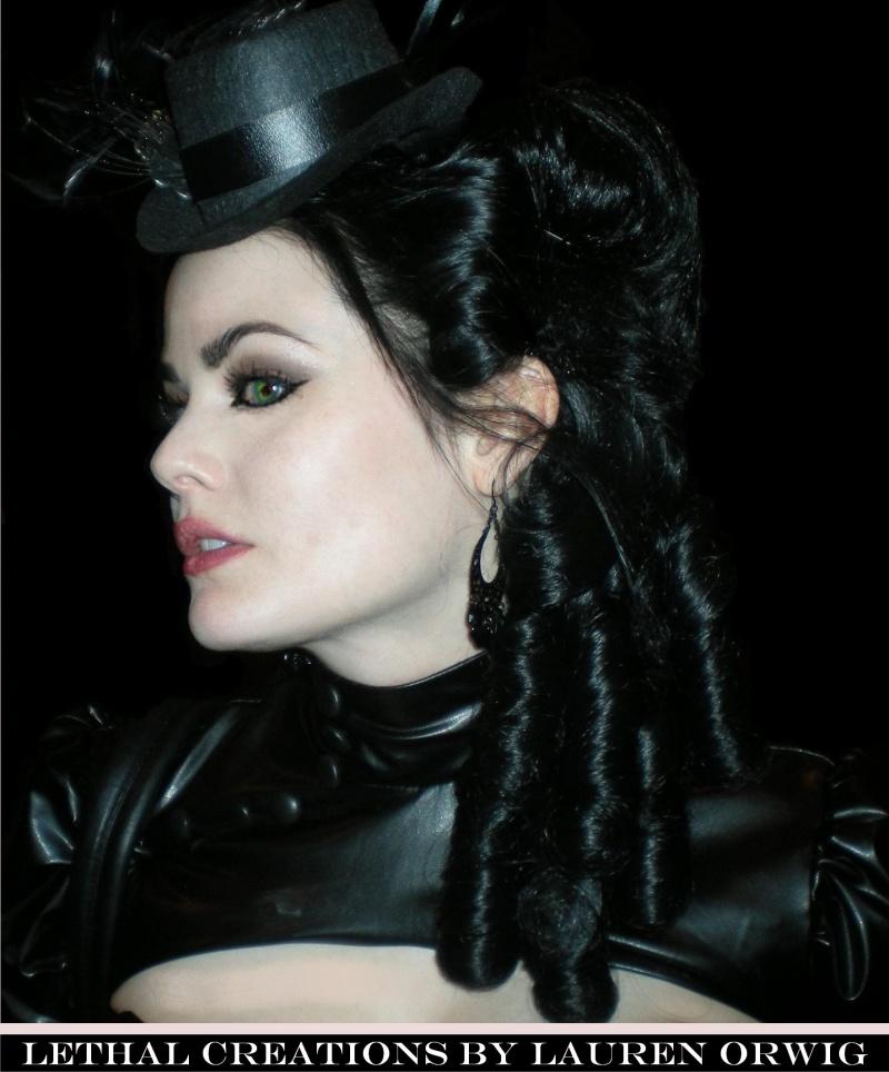 Oct 13, 2009 LETHAL CREATIONS BY LAUREN ORWIG Photographer/Hair/Makeup/Creative Direction: Lauren Orwig, Model: Lydia McCoy