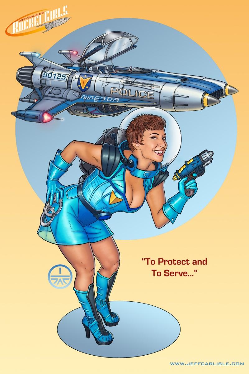 Oct 13, 2009 Copyright 2009 Jeff Carlisle Jeff Carlisles RocketGirls: To Protect and To Serve