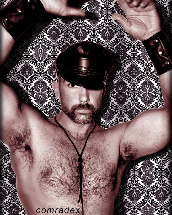 San-Francisco Oct 13, 2009 comradex Leather Billy