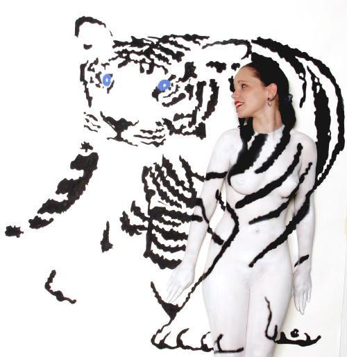 Largo, FL Oct 16, 2009 Wayne Collins White Tiger