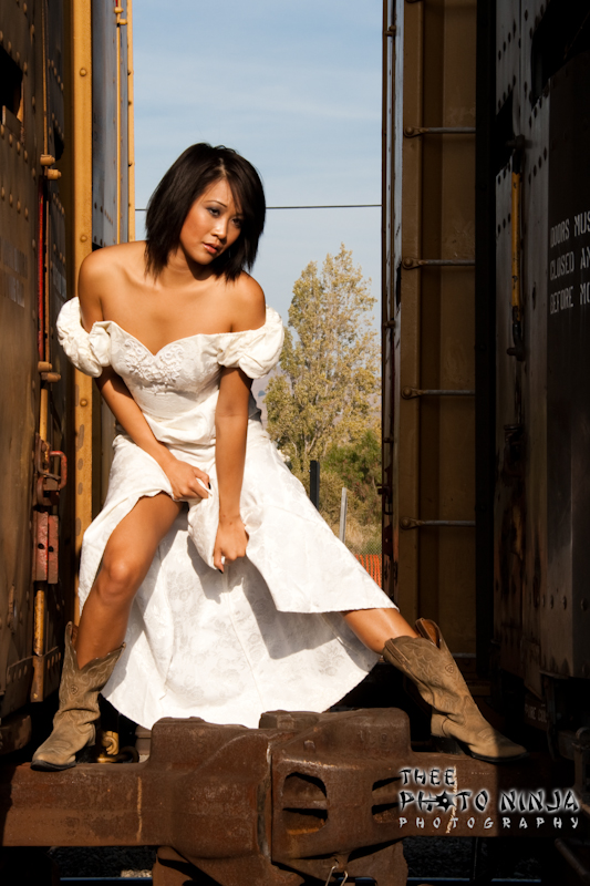 Train Yard - Milpitas, California Oct 18, 2009 2009 Thee Photo Ninja Industrial Strength Beauty