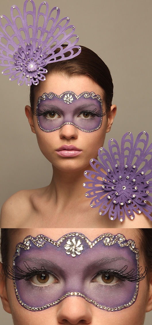 Oct 18, 2009 make-up design & crystals made by me. MUA Lauren Baker