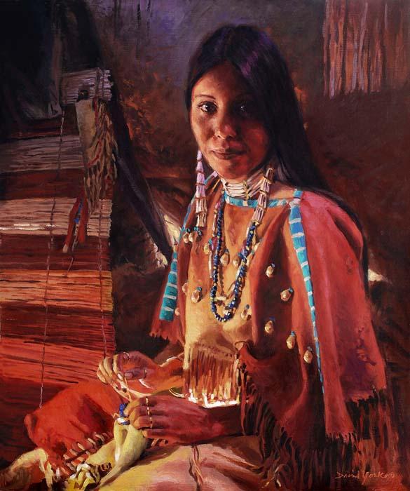sold Oct 19, 2009 artist: David Yorke Artisan of the Lakota