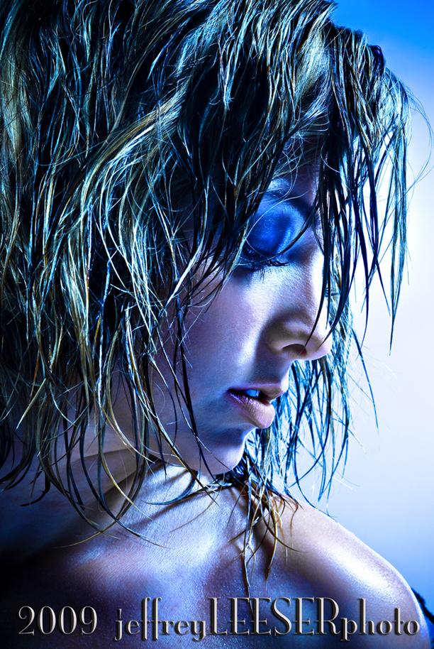 Studio Oct 19, 2009 2009  jeffreyLEESERphotography Blue Tara