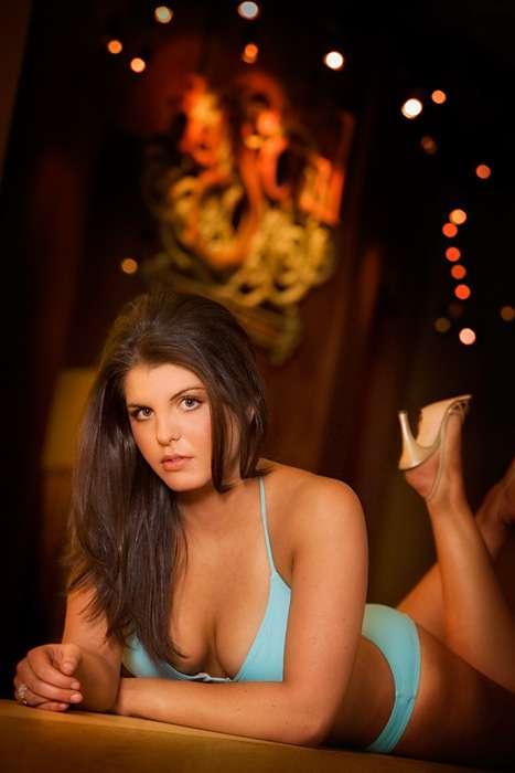 MontBleu Casino Resort Oct 19, 2009 Babes of Blu Calendar Shoot
