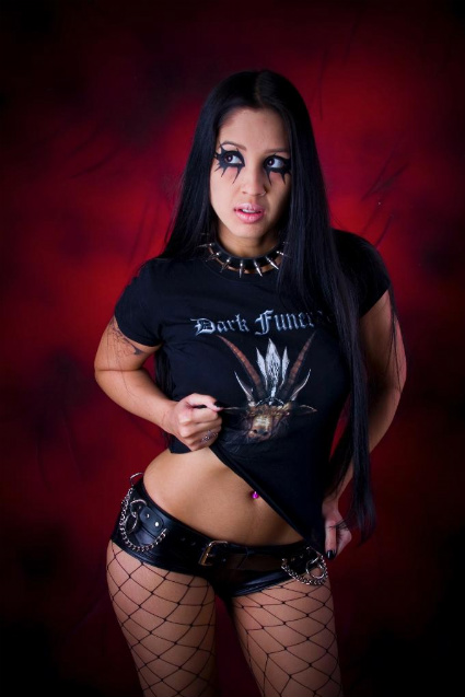 Oct 19, 2009 Modeling for Diaboliswear, clothing line for Dark Funeral.