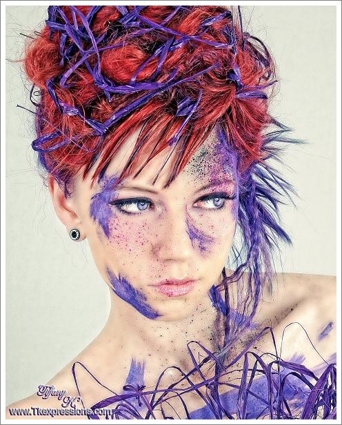 Dracut MA Oct 21, 2009 Janeen Jones/TiffanyTKexpressions  original concept from ANTM hair/makeup/creative direction-myself  idea-Tiff
