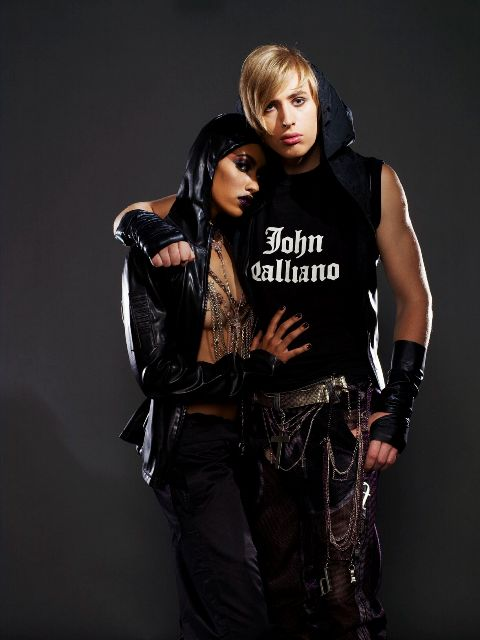 Male and Female model photo shoot of The Stylemonsters and AzMarie by Keith Major, makeup by JohnnyG Hair and Makeup