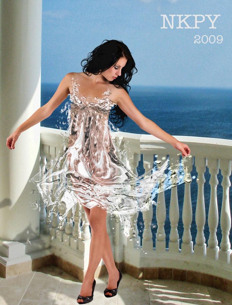Oct 22, 2009 NATHAN KHO PHOTOGRAPHY Waterdress