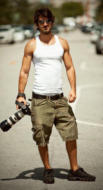 Male model photo shoot of Leandro Quartiermeister in miami
