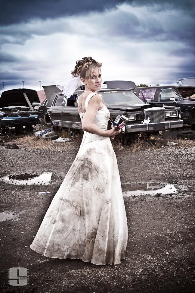Granite City, IL Oct 23, 2009 ©2009 Evocative Studios Trash the Dress
