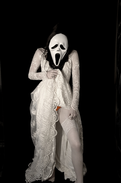 Oct 24, 2009 copyright FireflyPhotos My wedding is going to be a scream! - from the red undies series